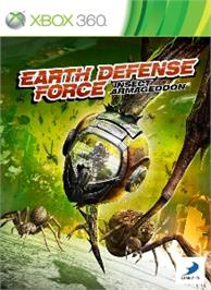 Box cover for Earth Defense Force: IA on the Microsoft Xbox 360.