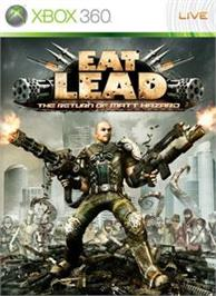 Box cover for Eat Lead on the Microsoft Xbox 360.
