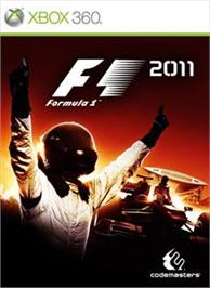 Box cover for F1 2011 on the Microsoft Xbox 360.