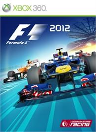 Box cover for F1 2012 on the Microsoft Xbox 360.