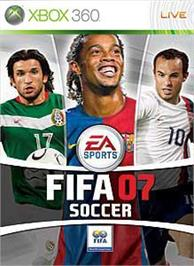Box cover for FIFA 07 on the Microsoft Xbox 360.