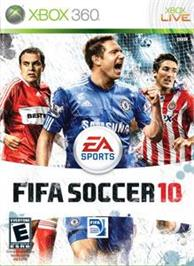 Box cover for FIFA 10 on the Microsoft Xbox 360.