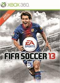 Box cover for FIFA Soccer 13 Early Access on the Microsoft Xbox 360.