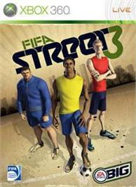 Box cover for FIFA Street 3 on the Microsoft Xbox 360.