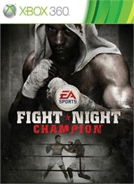 Box cover for FIGHT NIGHT CHAMPION on the Microsoft Xbox 360.