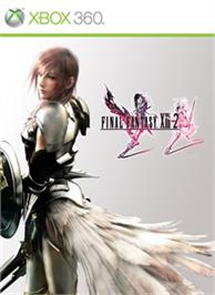 Box cover for FINAL FANTASY XIII-2 on the Microsoft Xbox 360.