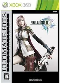 Box cover for FINAL FANTASY XIII on the Microsoft Xbox 360.