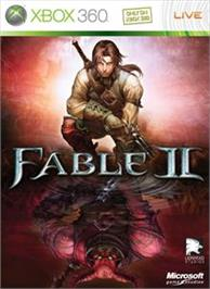 Box cover for Fable II on the Microsoft Xbox 360.