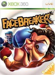 Box cover for FaceBreaker on the Microsoft Xbox 360.