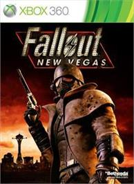 Box cover for Fallout: New Vegas on the Microsoft Xbox 360.