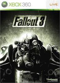 Box cover for Fallout 3 on the Microsoft Xbox 360.