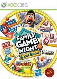 Box cover for Family Game Night 4: The Game Show on the Microsoft Xbox 360.