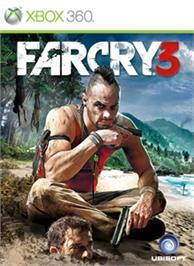 Box cover for Far Cry 3 on the Microsoft Xbox 360.