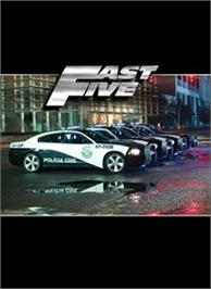 Box cover for Fast Five on the Microsoft Xbox 360.