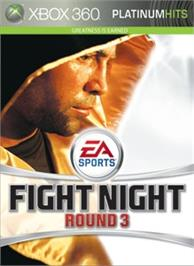 Box cover for Fight Night Round 3 on the Microsoft Xbox 360.