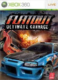Box cover for FlatOut UC on the Microsoft Xbox 360.