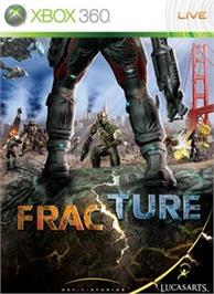 Box cover for Fracture on the Microsoft Xbox 360.