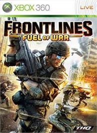 Box cover for Frontlines:Fuel of War on the Microsoft Xbox 360.