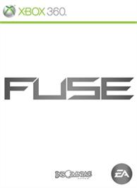 Box cover for Fuse on the Microsoft Xbox 360.