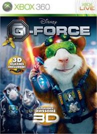 Box cover for G-Force on the Microsoft Xbox 360.