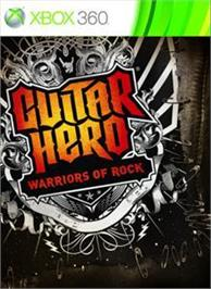 Box cover for GH: Warriors of Rock on the Microsoft Xbox 360.