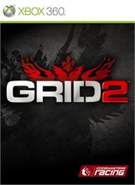 Box cover for GRID 2 on the Microsoft Xbox 360.