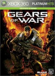 Box cover for Gears of War on the Microsoft Xbox 360.