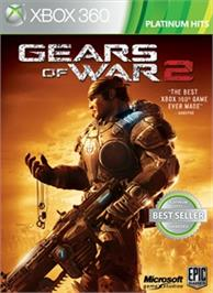 Box cover for Gears of War 2 on the Microsoft Xbox 360.