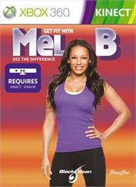 Box cover for Get Fit With Mel B on the Microsoft Xbox 360.