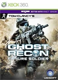 Box cover for Ghost Recon: Future Soldier on the Microsoft Xbox 360.