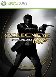 Box cover for GoldenEye Reloaded on the Microsoft Xbox 360.