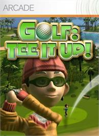 Box cover for Golf: Tee It Up! on the Microsoft Xbox 360.