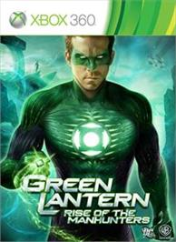 Box cover for Green Lantern on the Microsoft Xbox 360.