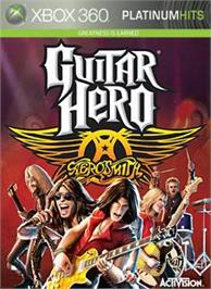 Box cover for Guitar Hero: Aerosmith on the Microsoft Xbox 360.