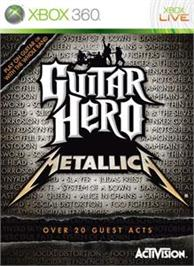 Box cover for Guitar Hero Metallica on the Microsoft Xbox 360.