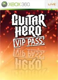 Box cover for Guitar Hero VIP Pass on the Microsoft Xbox 360.