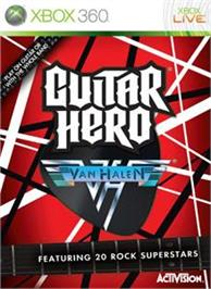Box cover for Guitar Hero Van Halen on the Microsoft Xbox 360.