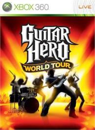 Box cover for Guitar Hero World Tour on the Microsoft Xbox 360.