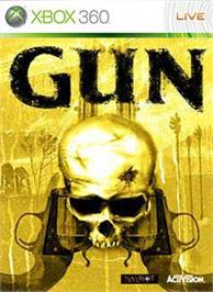 Box cover for Gun on the Microsoft Xbox 360.