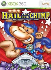 Box cover for Hail to the Chimp on the Microsoft Xbox 360.