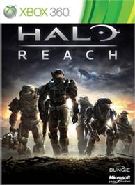 Box cover for Halo: Reach on the Microsoft Xbox 360.