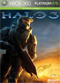 Box cover for Halo 3 on the Microsoft Xbox 360.