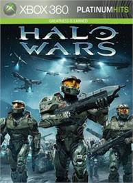 Box cover for Halo Wars on the Microsoft Xbox 360.