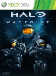 Box cover for Halo Waypoint on the Microsoft Xbox 360.