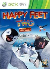 Box cover for Happy Feet Two: The Videogame on the Microsoft Xbox 360.