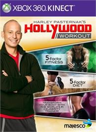 Box cover for Harley Pasternaks Hollywood Workout on the Microsoft Xbox 360.