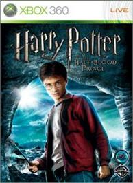 Box cover for Harry Potter HBP on the Microsoft Xbox 360.