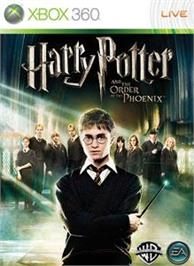 Box cover for Harry Potter OOTP on the Microsoft Xbox 360.