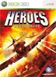 Box cover for Heroes Over Europe on the Microsoft Xbox 360.