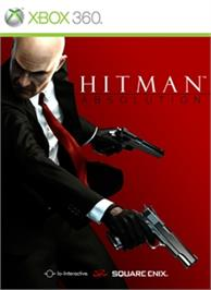 Box cover for Hitman: Absolution on the Microsoft Xbox 360.